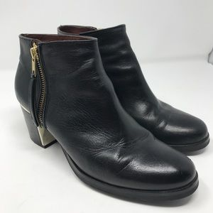 Eric Michael Shoes - Eric Michael Black Chunky Heel Boots Size 39